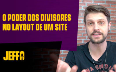 O poder dos DIVISORES na Divi Builder [Criador de Sites WordPress]